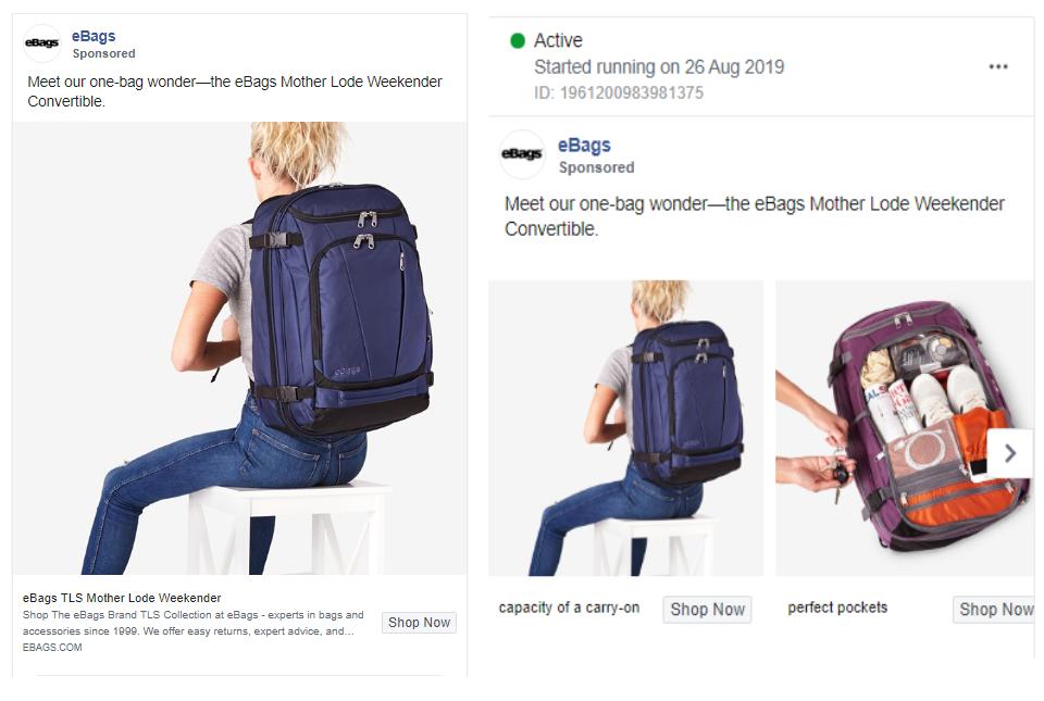 Single Image vs Carousel Ad Split Testing